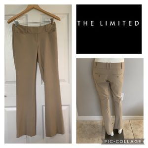The Limited Drew Fit khaki Pants
